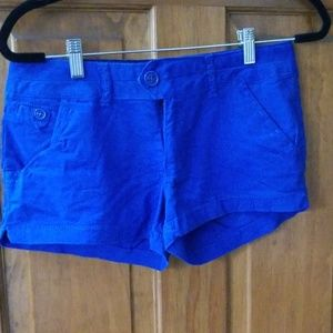 Blue Shorts, like new condition
